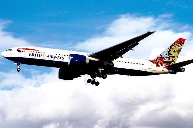 British Airways | Boeing 777-200ER | G-VIIK | Animals and Trees | London Gatwick