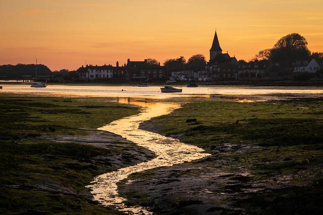 Sunset over Bosham Harbour