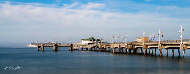 Belmont Pier in Long Beach