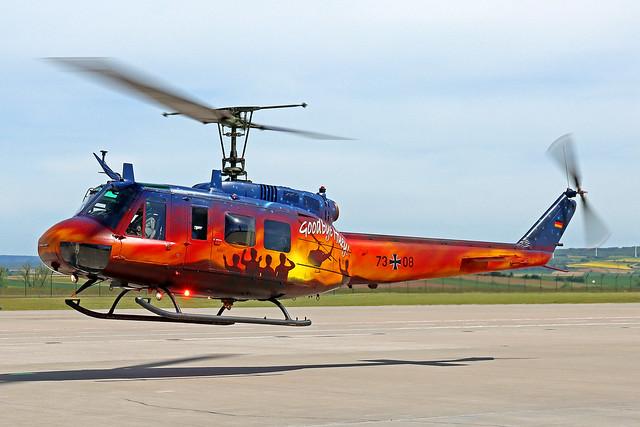 German Air Force (Luftwaffe) Bell UH-1D 73+08 KSF 01-06-21