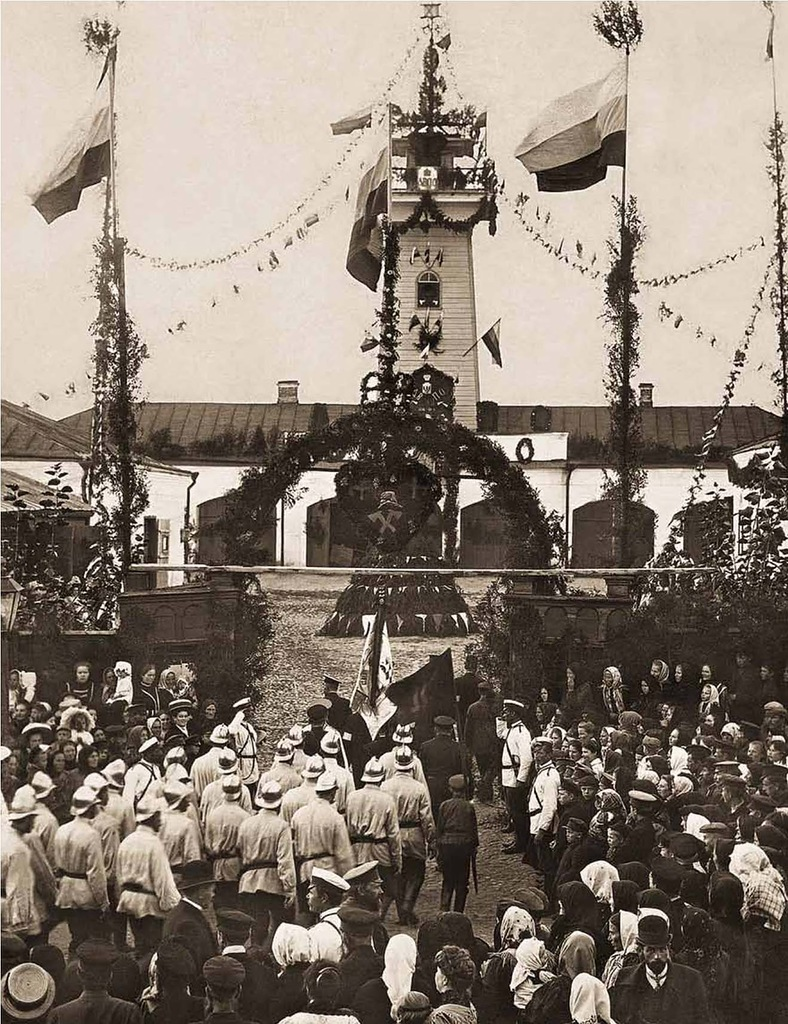 Праздник Даниловской Добровольной Пожарной Дружины. 1910