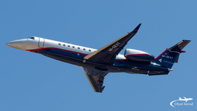 TLV - Private Embraer Legacy 650 M-SEXY !!
