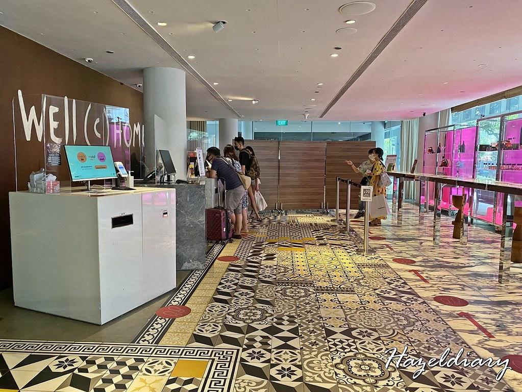 M Hotel Singapore- Hotel Lobby