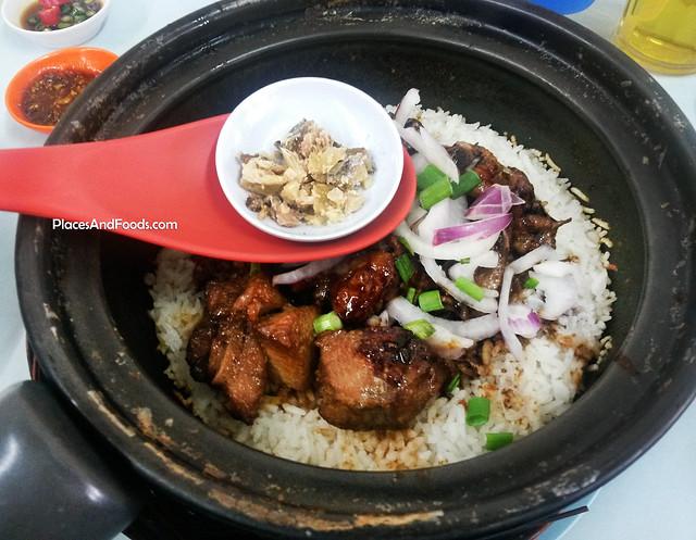 restoran gafan chicken claypot