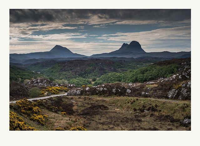 Canisp & Suilven in Assynt, Scotland