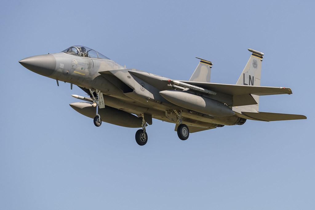 F-15C 493rd FS 86-0159