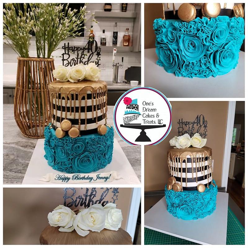 Cake by One's Dream Cakes & Treats, LLC
