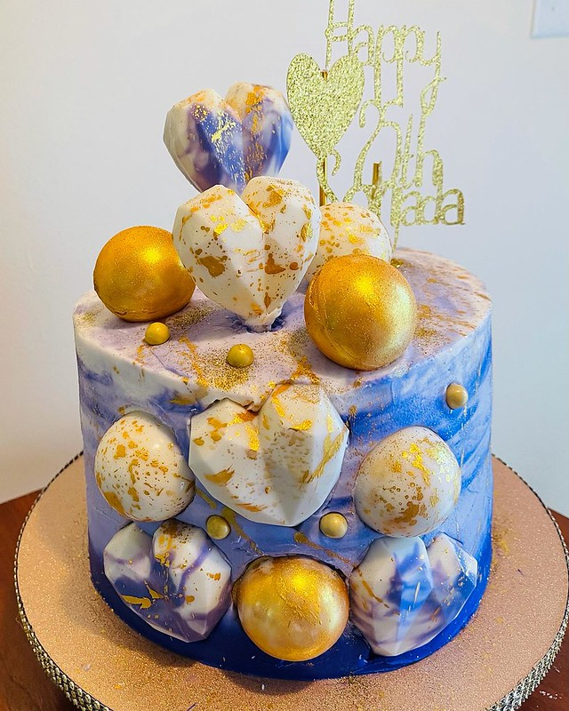 Cake by Dezi's Delectable's