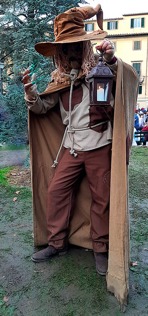 Scarecrow cosplay