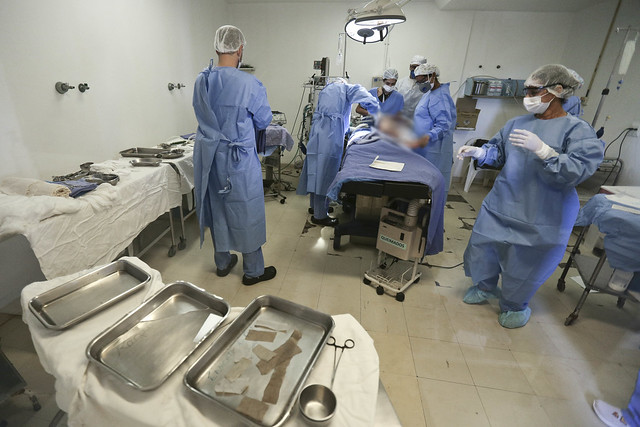 Criança de três anos passa por transplante de pele no Hran