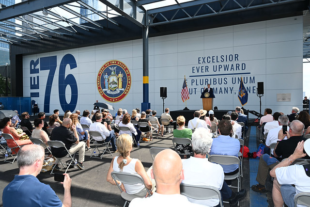Governor Cuomo Announces Grand Opening of Pier 76 on Manhattan's Western Shore