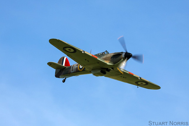Hurricane P3886 - Biggin Hill Heritage Hangar Limited