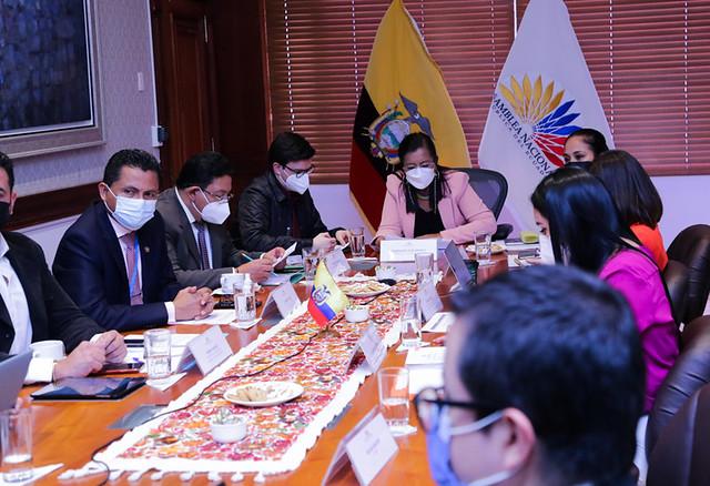 SESIÓN DEL CONSEJO DE ADMINISTRACIÓN LEGISLATIVA. ECUADOR 09 DE JUNIO DE 2021.
