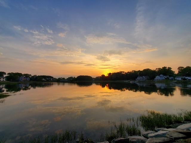 Sunset at Bluff