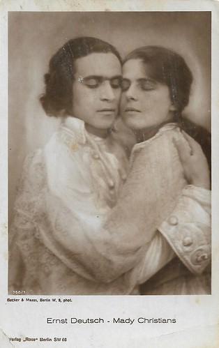 Ernst Deutsch and Mady Christians