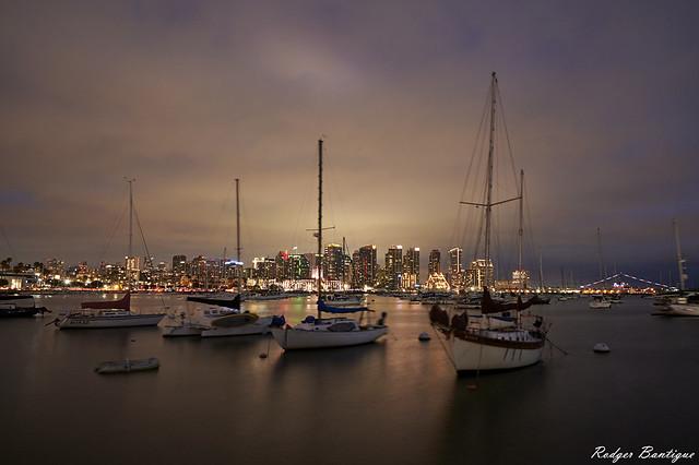 cloudy evening at the embarcadero