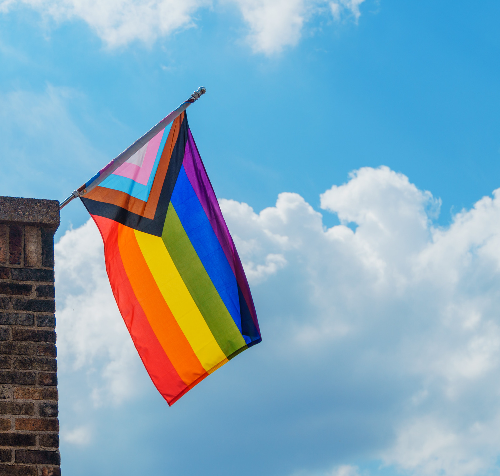 Thank you for Publishing my Photo of the Progress Pride Flag, PoPville