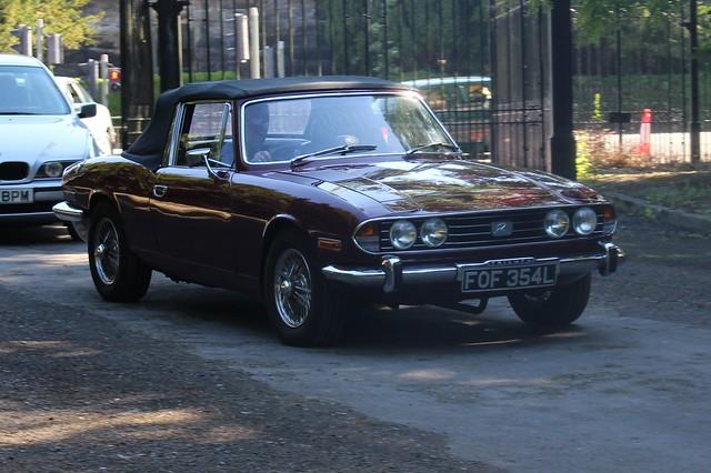 262 Triumph Stag (1972) FOF 354 L
