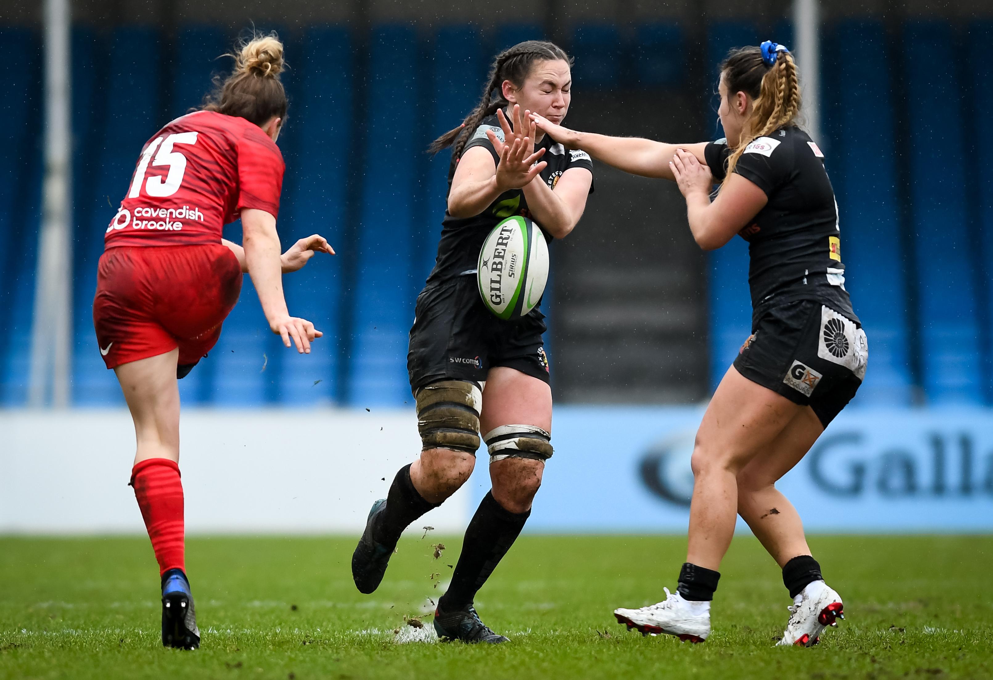 Exeter Chiefs Women v Saracens Women 300121