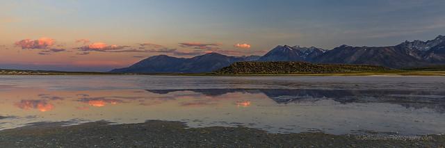 Sierra Nevada Sunset Reflection