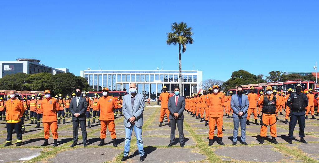 Deputado Roosevelt Vilela participa da solenidade de lançamento da 2ª fase da Operação Verde Vivo
