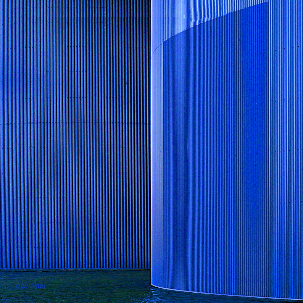 Ben Paul F0741 Composition in blue 2014