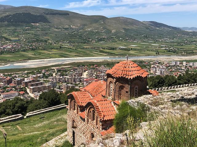 Iglesia ortodoxa en Berat (Albania)
