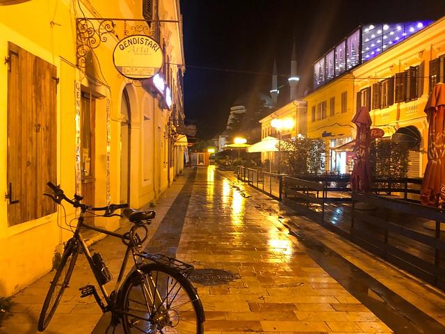 Rruga Kole Idromeno en Shkodër (Albania)