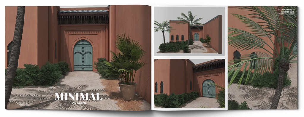 MINIMAL – Riad Scene