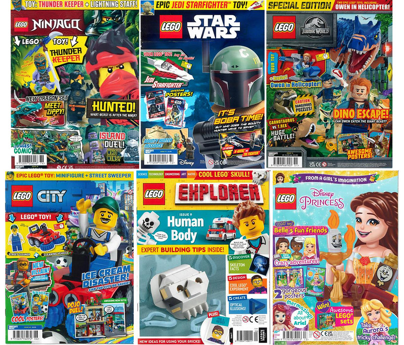 LEGO Mags Preview June 21