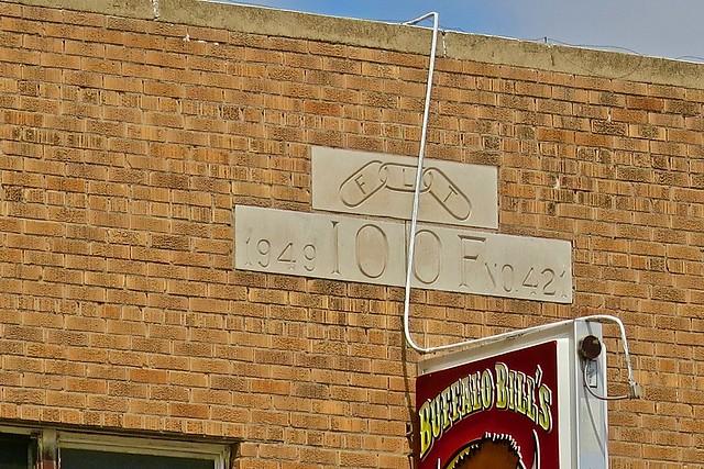 Odd Fellows Building, Oakley, KS