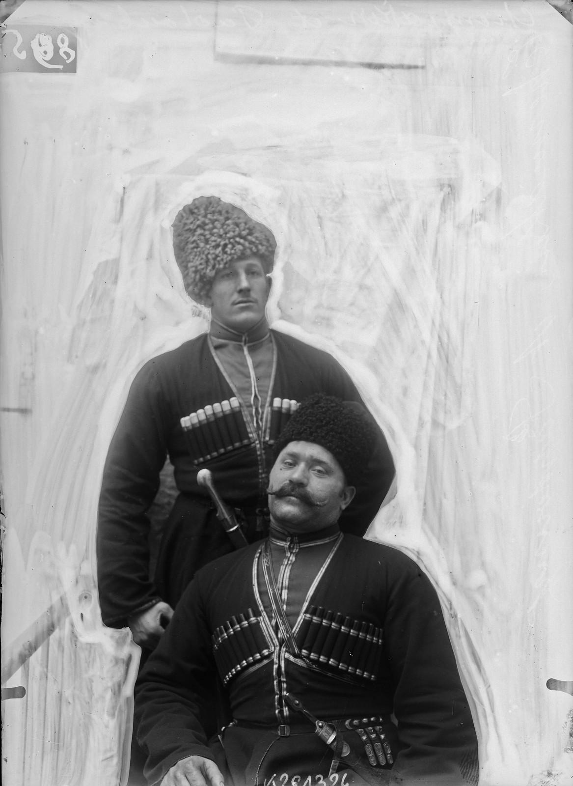 1905. Иван Васильевич Шемякин и Иван Максимович Поддубный