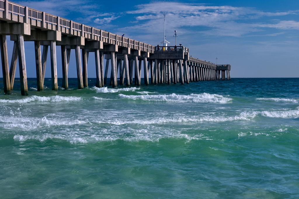 The Dog Beach pier
