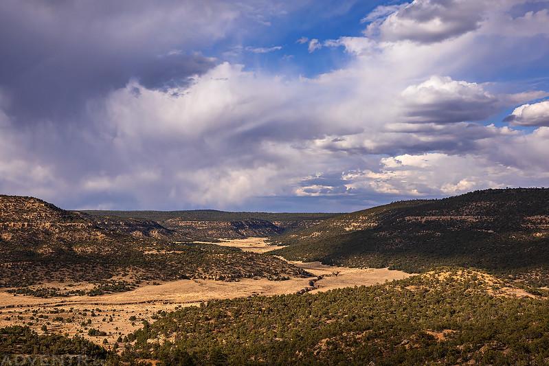 Cebolla Canyon Clouds