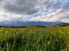 Výhled z Muttereralm na Innsbruck