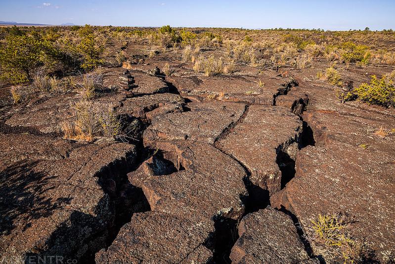 Cracks in the Lava