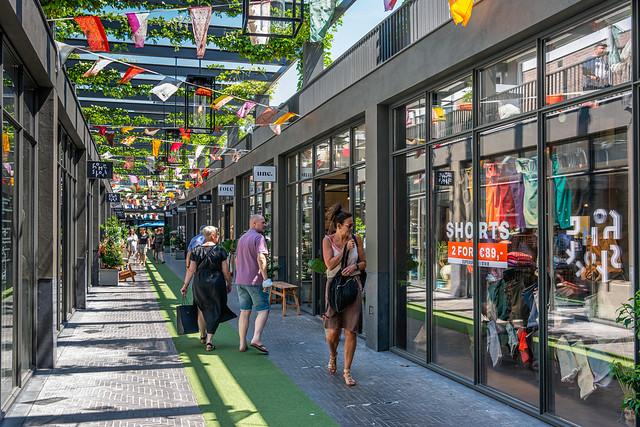 Shopping in the Houtmarktpassage, Breda, Netherlands