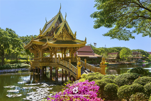The  Sala of Ten Reincarnations, Ancient Siam, Muang Boran, Thailand