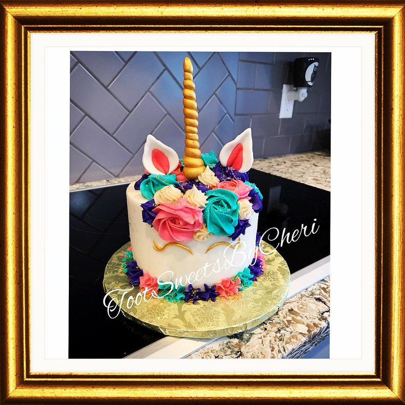 Unicorn Cake from Toot Sweets By Cheri