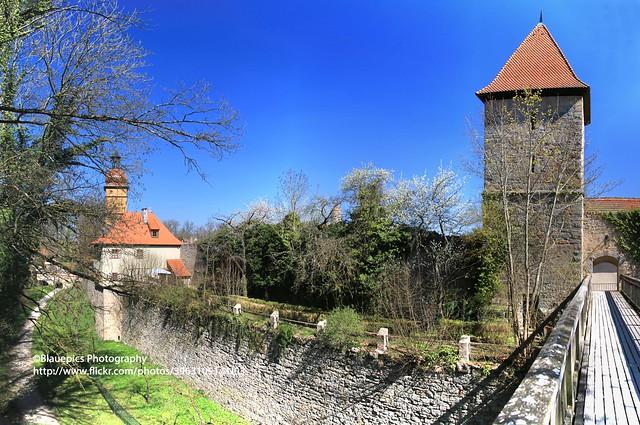 Dinkelsbühl, medieval citywall