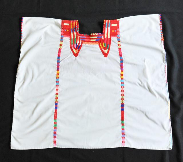 Mexico Maya Huipil Chiapas Clothing Textiles