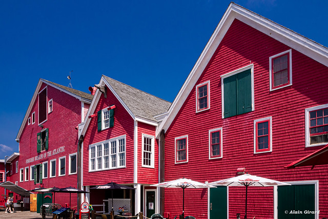 Old fishermans wharehouses