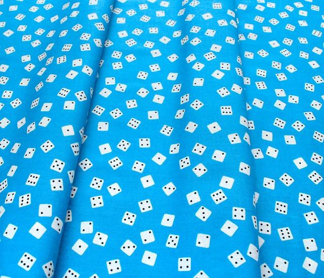 Ruby Star Society Tarrytown RS3024-17 Farkle Blend Dice Bright Blue
