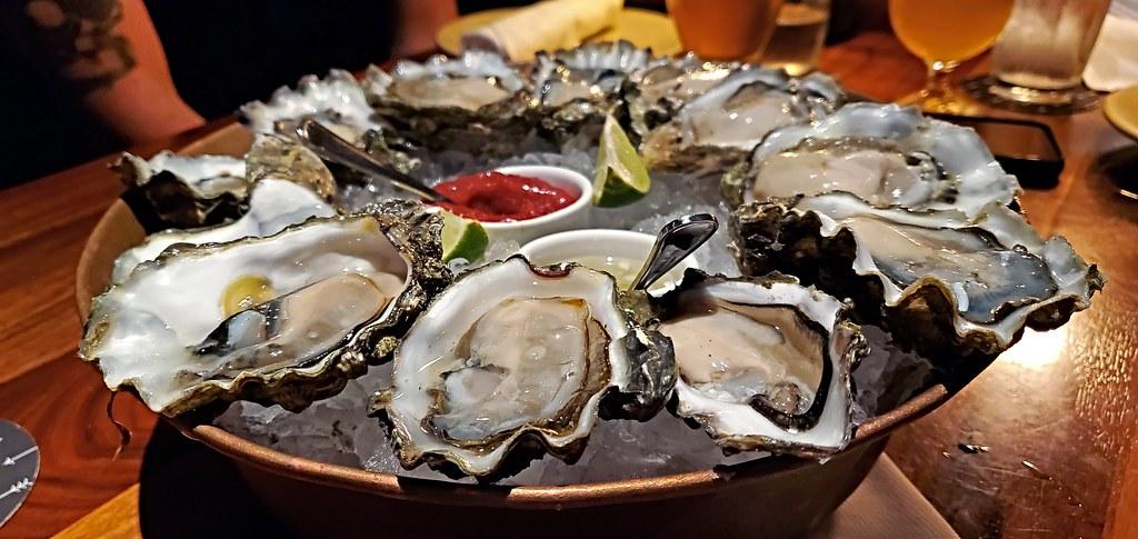 West Coast oyster