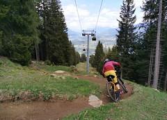 Červený trail The First One