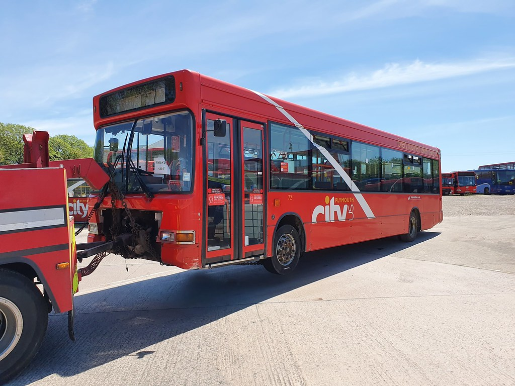 Plymouth Citybus 0072