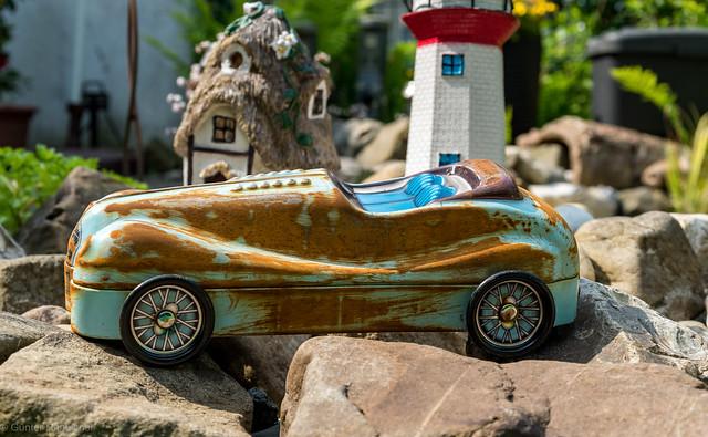 The old tin Car!