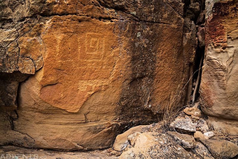 Petroglyphs in the Corner