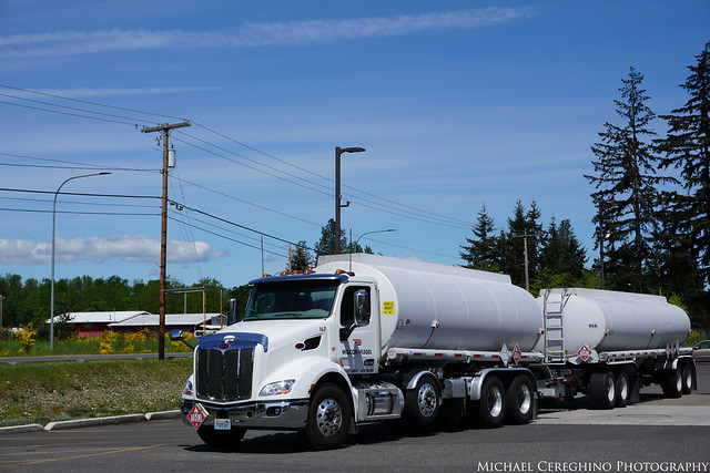 Wilcox & Flegal Peterbilt 579 Fuel Tanker, Truck# 147