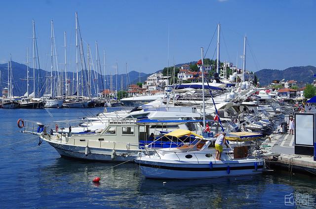 Marina at Marmaris. Turkey (explored June 10 2021)
